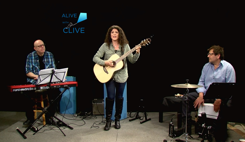 Arielle Eden on Alive with Clive, 1st of 2 Shows