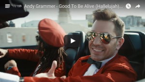 Andy Grammer - Good To Be Alive - Hallelujah