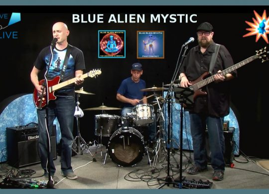 Blue Alien Mystic on Alive with Clive