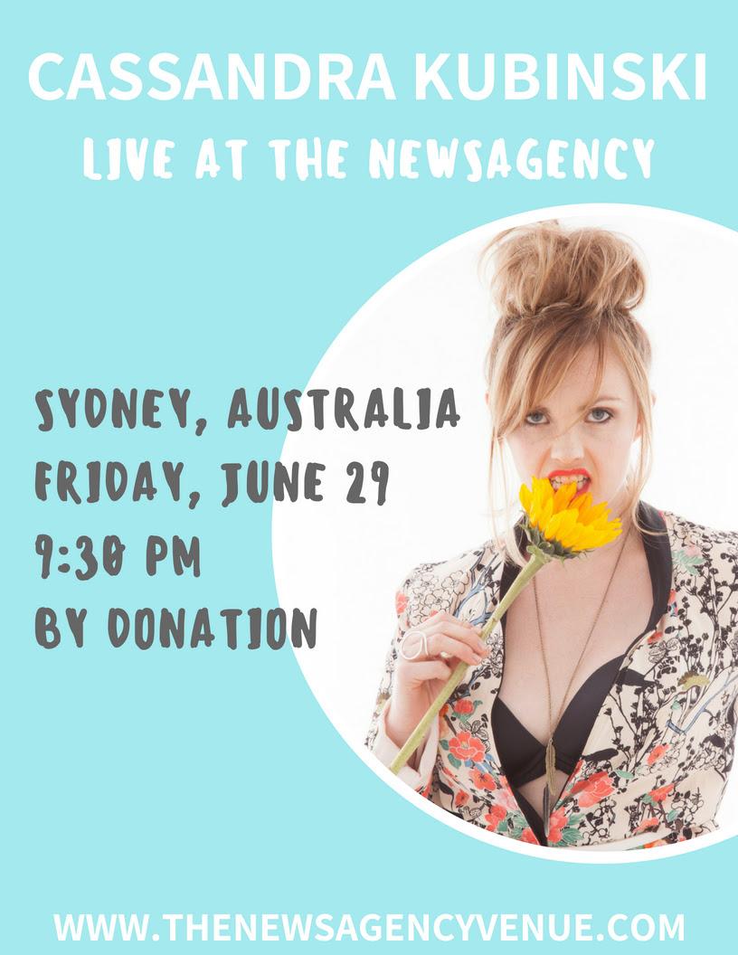 Cassandra Kubinski in Sydney, Australia