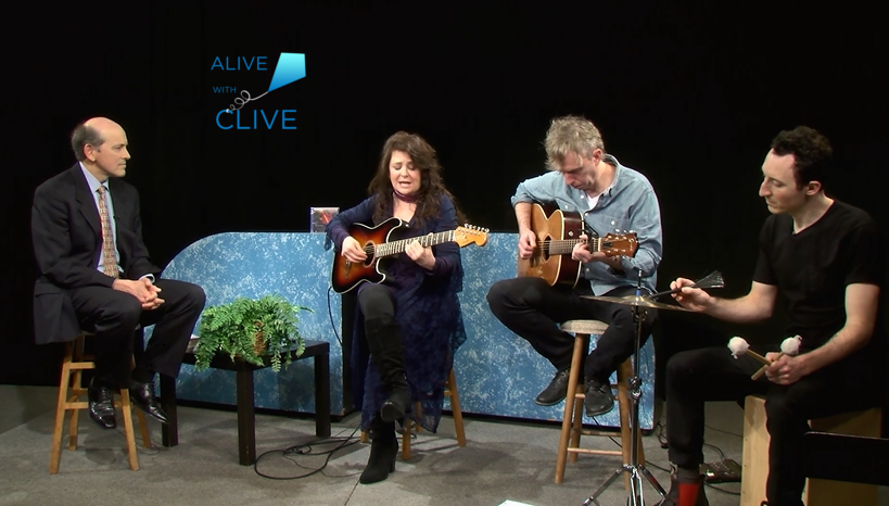 Carolee Rainey on Alive with Clive, 2nd of 2 Shows