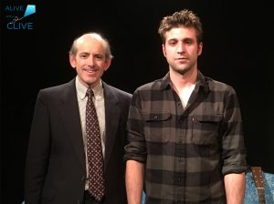 Clive Swersky, Host and Producer of Alive with Clive, with Adam Silvestri from Radiator King