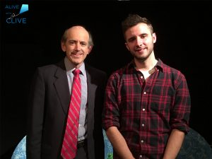 Clive Swersky, Host and Producer of Alive with Clive, with Will Leet from Instant Treeline