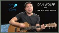 Dan Wolff from The Muddy Crows on Alive with Clive