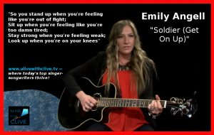 Emily Angell, Soldier (Get On Up)