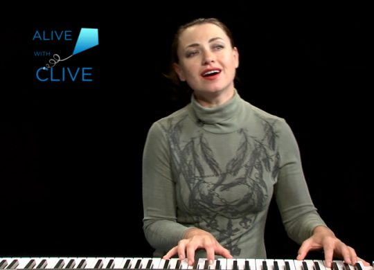 Eve Lesov on Alive with Clive, 2nd of 2 Shows