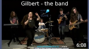 "Gilbert - the band | ""Wolf Magnet"""