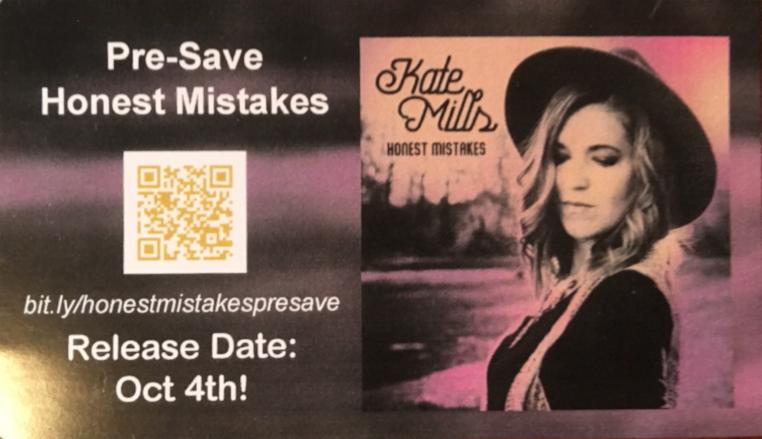 Honest Mistakes Presave Card