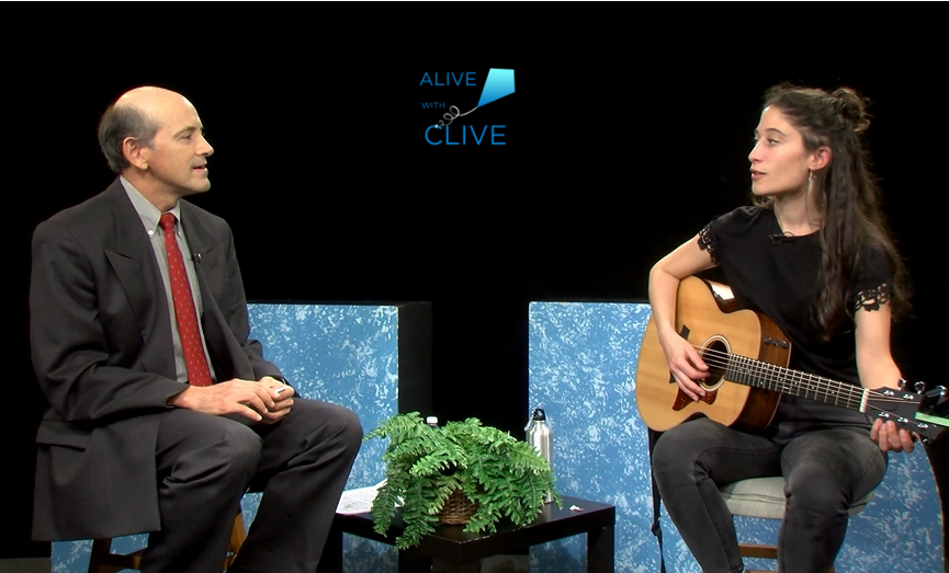 Jeri Silverman on Alive with Clive, 2nd Show