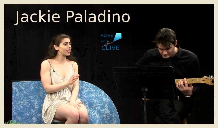 Singer-songwriter, Jackie Paladino