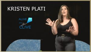 Kristen Plati on Alive with Clive