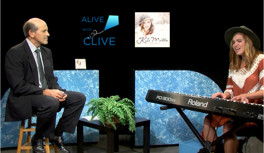 Kate Mills on Alive with Clive, 1st of 2 Shows