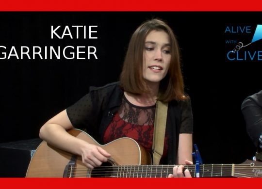 Katie Garringer, 1st Show on Alive with Clive