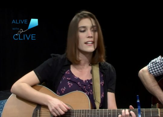 Katie Garringer on Alive with Clive, 2nd of 2 Shows