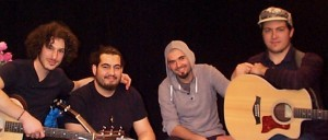 The band, Khaled Dajani, from left to right, Khaled Dajani, Gil Alexandre, Andres Castro and Manuel Sanchez