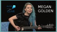 Megan Golden, 1st Show on Alive with Clive