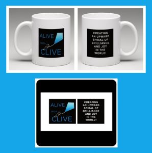 Alive with Clive Mug and Mousepad