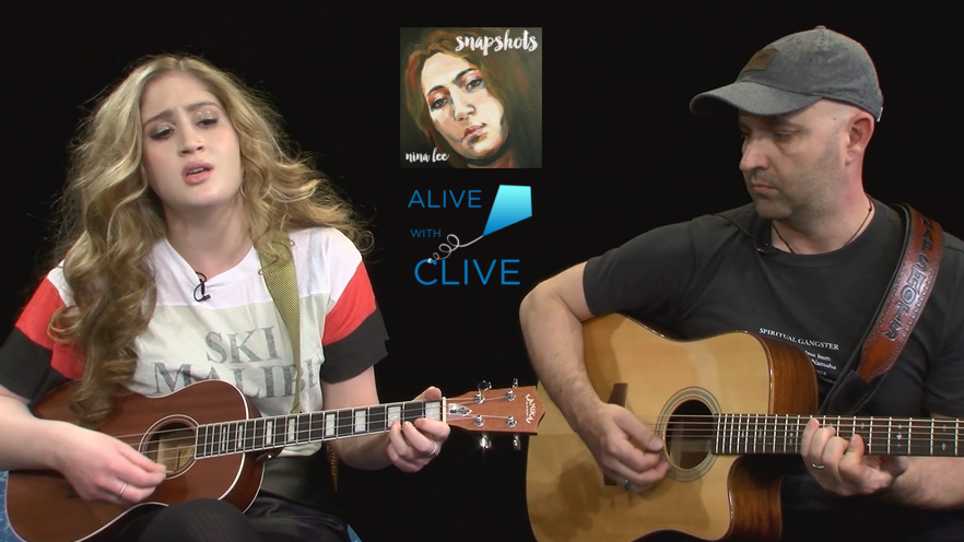 Nina Lee on Alive with Clive, 1st of 2 Shows