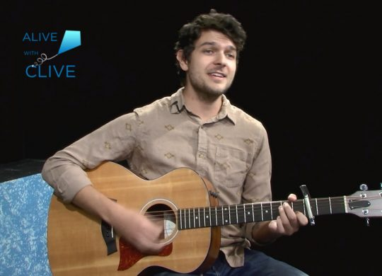 Noah Evan Wilson on Alive with Clive, 1st of 2 Shows