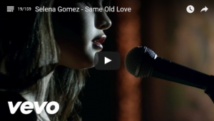 Selena - Same Old Love - Vid Pic