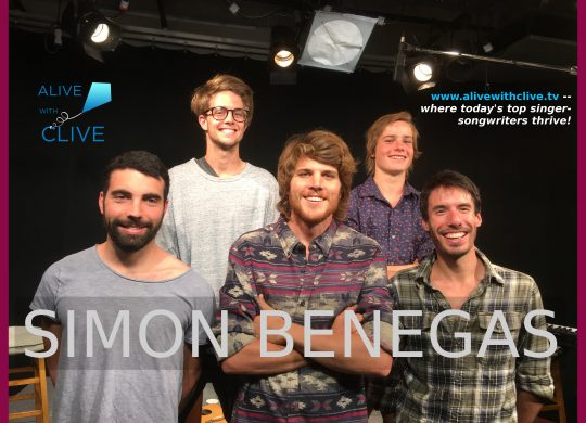 Simon Benegas on Alive with Clive, 1st of 2 Shows