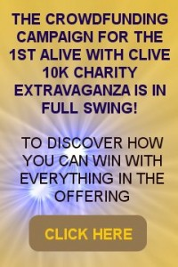Alive with Clive 10K Charity Extravaganza Crowdfunding Campaign
