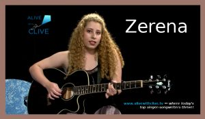 Zerena on Alive with Clive on July 10, 2017, 1st Show