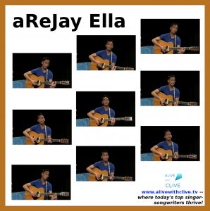 aReJay Ella in his 1st Show on Alive with Clive