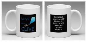 The New Alive with Clive Mug