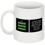 """The """"I'm Alive with Clive"""" Mug -- Logo Horizontal, No Border"""