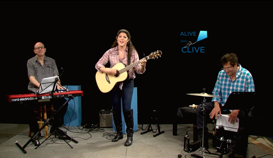 Arielle Eden on Alive with Clive, 2nd of 2 Shows