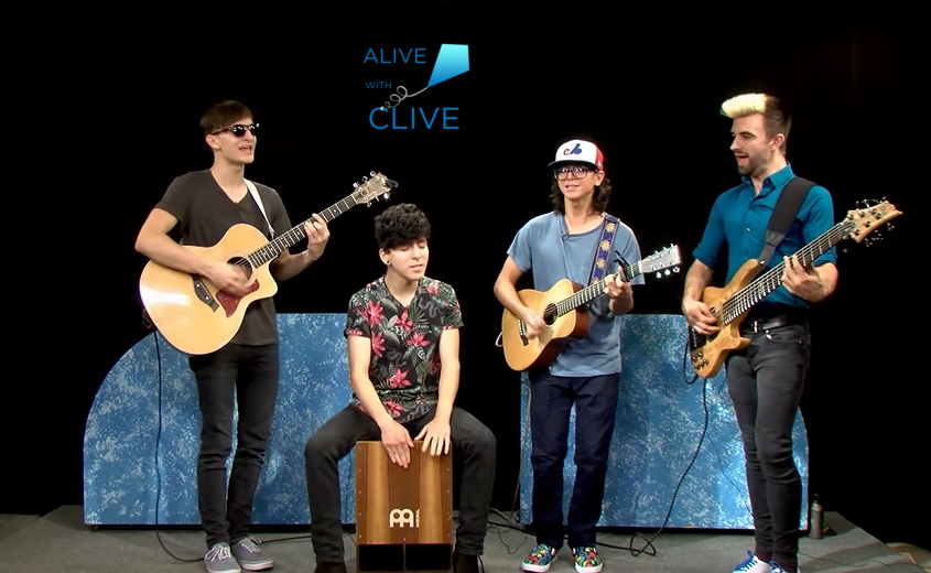 All Types of Kinds on Alive with Clive, 1st of 2 Shows