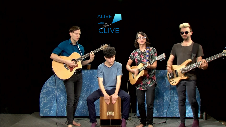 All Types of Kinds on Alive with Clive, 2nd of 2 Shows