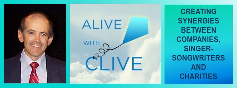 Alive with Clive Creating Synergies Banner
