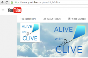 The Alive with Clive TV Channel on YouTube