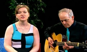 Amanda Sprecher with Robert Scalici