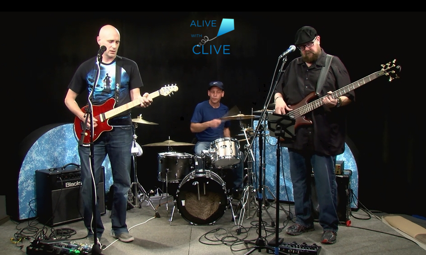 Blue Alien Mystic on Alive with Clive, 1st of 2 Shows