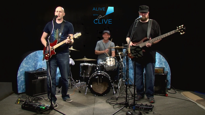 Blue Alien Mystic on Alive with Clive, 2nd of 2 Shows