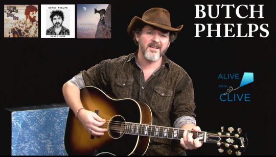 Butch Phelps on Alive with Clive