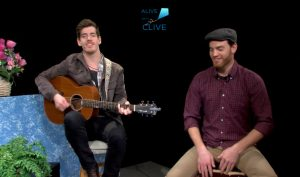 Drew Angus with Spencer Inch on Alive with Clive, 2nd of 2 Shows