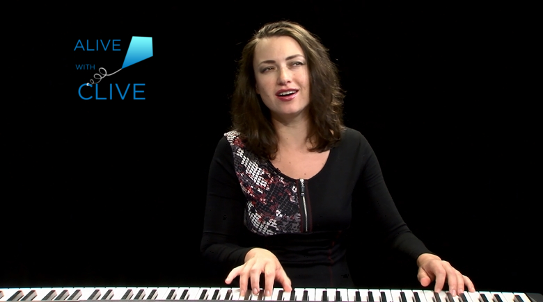 Eve Lesov on Alive with Clive, 1st of 2 Shows