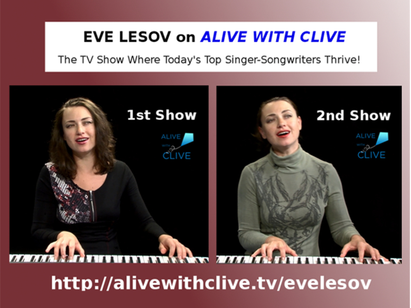 Eve Lesov on Alive with Clive