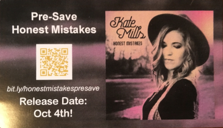 Honest Mistakes Presave Card