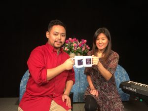 Guitarist, Jonathan Ng, with Singer-Songwriter, Jean Lee, on Alive with Clive