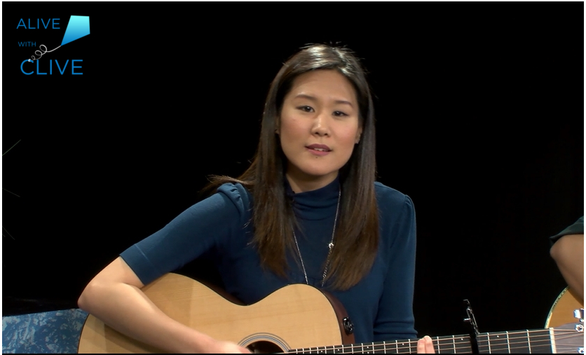 Jean Lee on Alive with Clive, 1st of 2 Shows