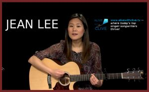 Jean Lee on Alive with Clive sings songs to move the world