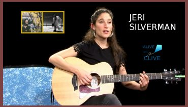 Jeri Silverman Sings Songs that Awaken the Senses and Stimulate Imagination on Alive with Clive