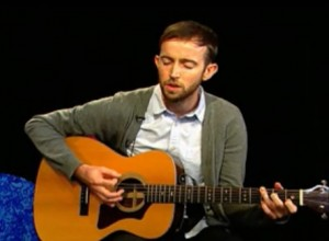 Singer-songwriter, John Gribbin from Building Pictures