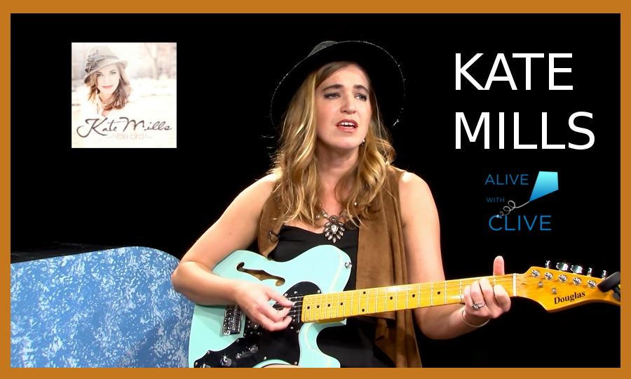 Singer-songwriter, Kate Mills