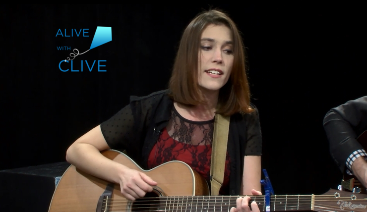 Katie Garringer on Alive with Clive, 1st of 2 Shows